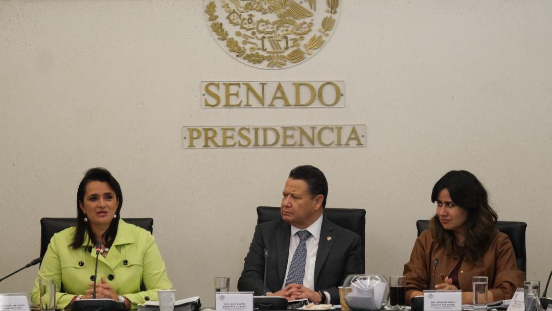 Candidatas a ocupar vacante en SCJN comparecen ante Senado