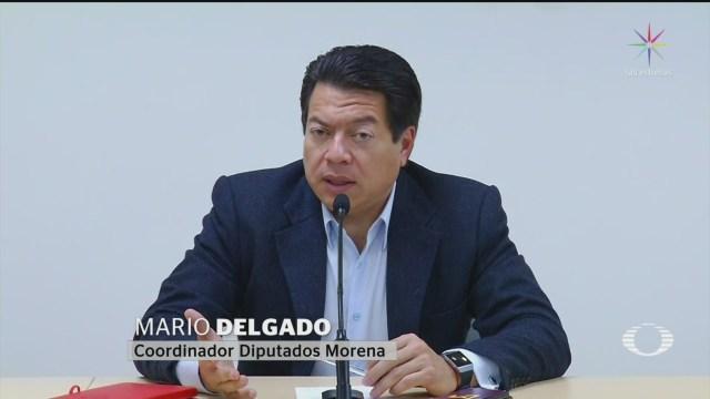 Foto: Mario Delgado Señala Felipe Calderón Responsable Violencia 17 Diciembre 2019