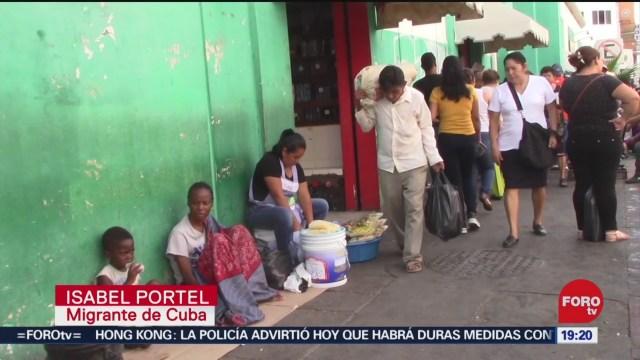 Foto: Migrantes Africanos Navidad Albergues Chiapas 24 Diciembre 2019