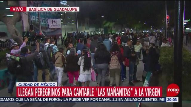 Foto: Peregrinos Basílica Guadalupe Hoy 11 Diciembre 2019