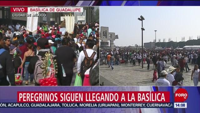 FOTO: Miles Peregrinos Siguen Llegando Basílica Guadalupe