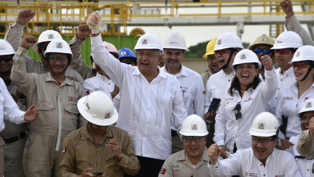 Pemex encuentra yacimiento petrolero gigante en Tabasco, el 06 de diciembre de 2019