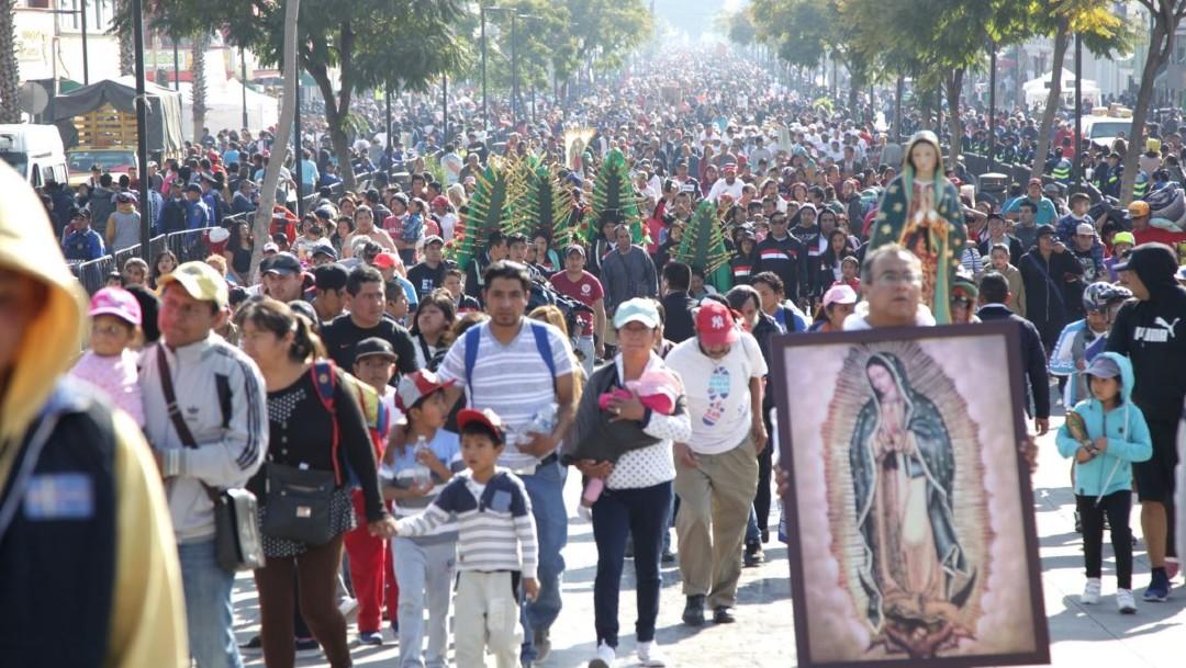 Foto: Llegan peregrinos de todo el país, incluso del extranjero, a la Basílica de Guadalupe, 11 diciembre 2019