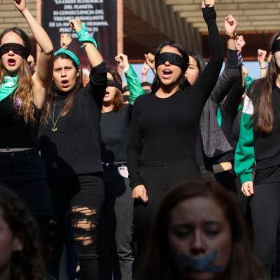 'Las Tesis', colectivo feminista que creó 'Un violador en tu camino'