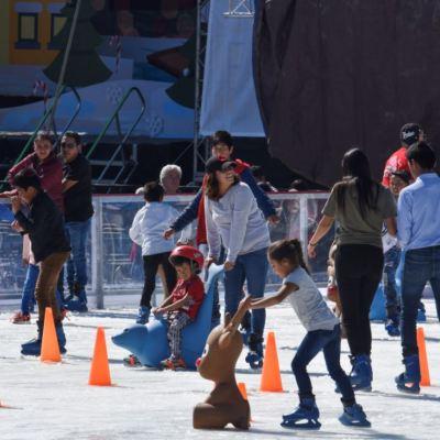 Así es la pista 'Ecologísssima' del Zócalo de la Ciudad de México