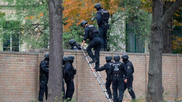 Policía de Alemania.