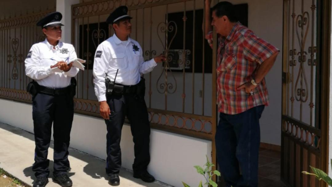 FOTO ONU premia a Colima por modelo de Policía de Proximidad (Twitter @ColimaPolicia)