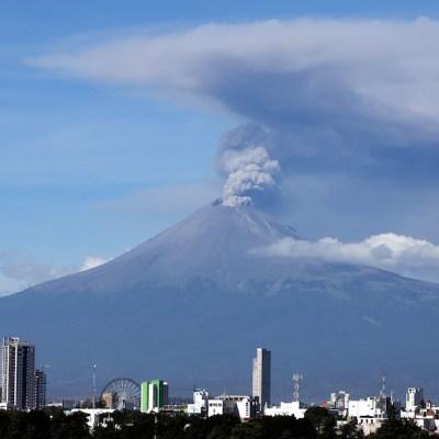 Video: Así fue la explosión en el Popocatépetl que ocurrió esta Navidad