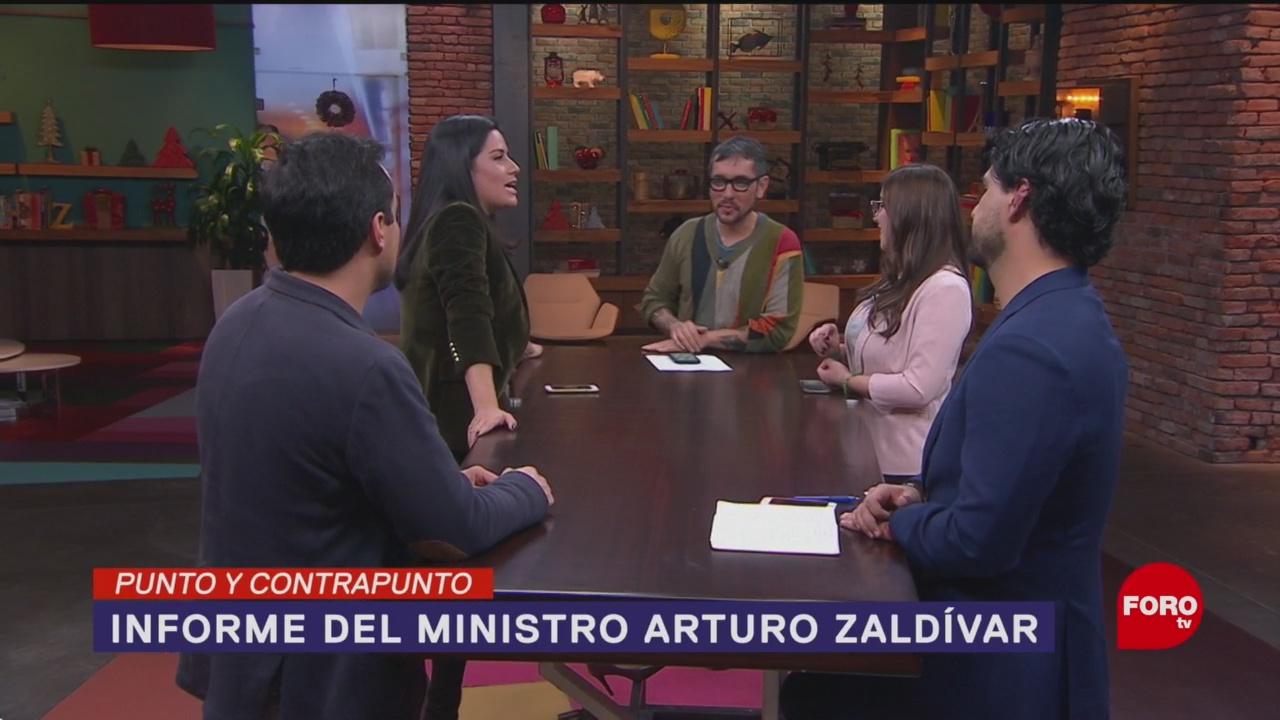 Foto: Primer Informe Ministro Arturo Zaldívar SCJN 12 Diciembre 2019