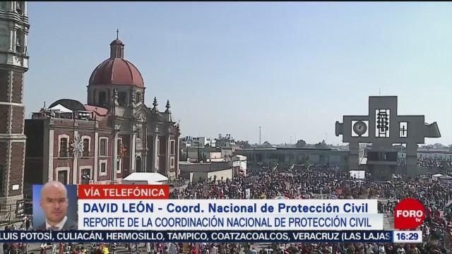 FOTO: Protección Civil Detalla Operativo Basílica Guadalupe