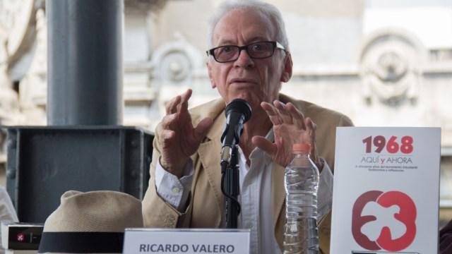 Fotografía que muestra a Ricardo Valero, exembajador de México en Argentina