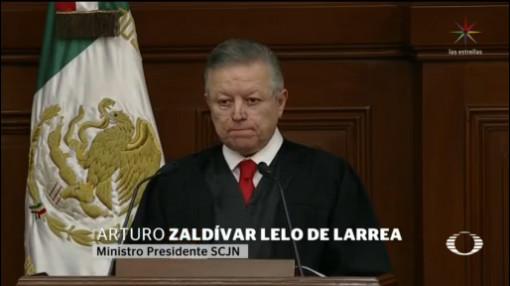 Foto: Primer Informe Arturo Saldívar Presidente Scjn 11 Diciembre 2019
