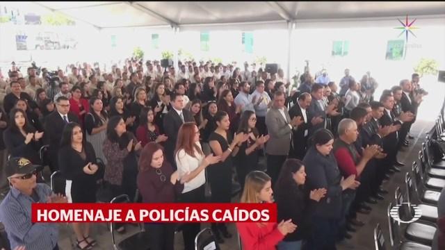 Foto: Homenaje Policías Muertos Enfrentamiento Villa Unión 5 Diciembre 2019