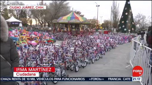 Foto: Santa Bombero Regala Juguetes Niños Escasos Recursos 24 Diciembre 2019