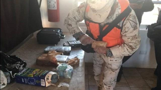 Foto: Lo asegurado fue valuado en el mercado en 26 millones 480 mil 693 pesos, por lo que el decomiso significaba un golpe fuerte a las organizaciones criminales