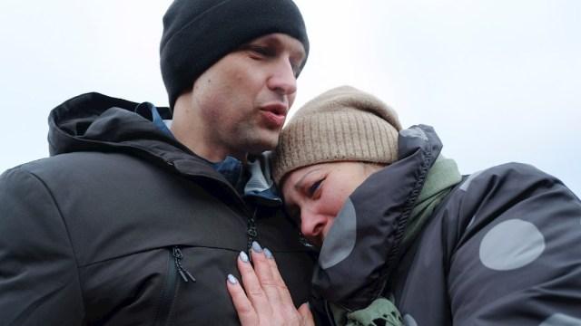 Intercambio de 200 prisioneros de la guerra entre Ucrania y los separatistas prorrusos.
