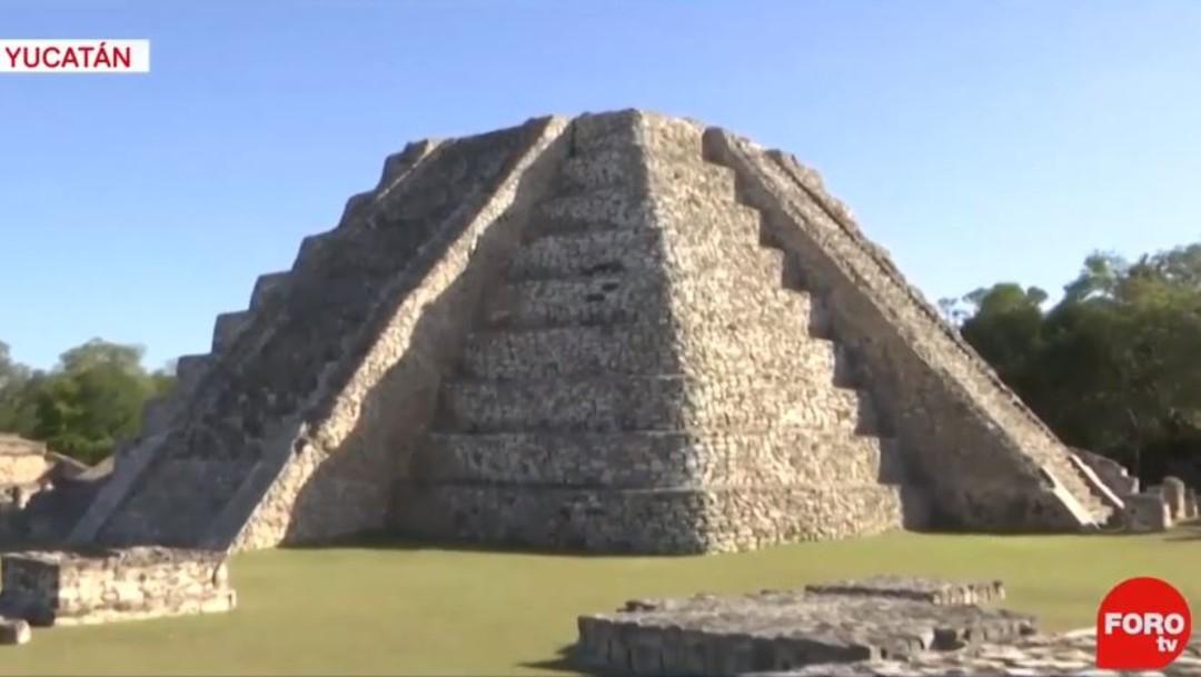 Foto: Los mayas veneraban los cambios de estación y en este día de solsticio, Kukulcán, descendió en la zona arqueológica de Mayapán al sur de Yucatán