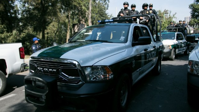 Imagen: Efectivos de la SSC que realizaban su recorrido de protección y vigilancia fueron alertados por operadores del Centro de Control y Comando (C-2) Sur