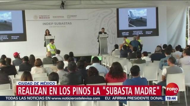 FOTO: Subasta de bienes incautados al crimen organizado en Los Pinos, 14 diciembre 2019