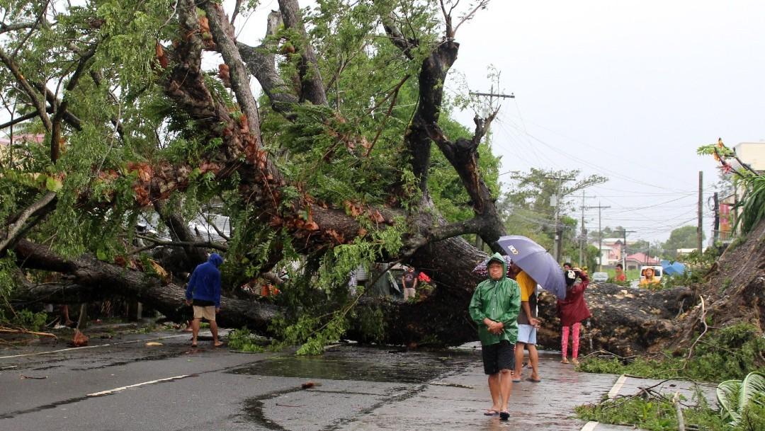 Tifón Kammuri deja más de una decena de muertos