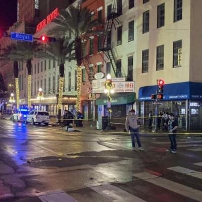 Tiroteo deja al menos 10 heridos en Nueva Orleans, Estados Unidos