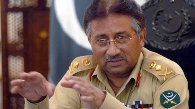 Tribunal Pakistán sentencia muerte a Musharraf por traición