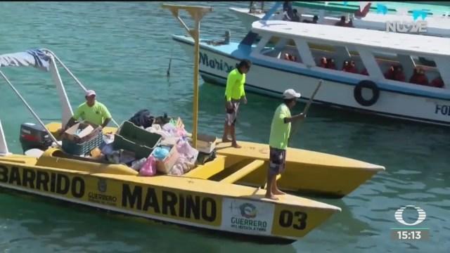 vacacionistas dejan toneladas de basura en acapulco