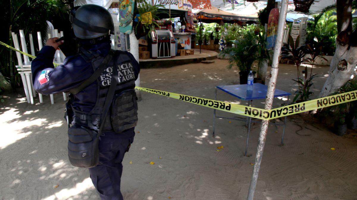 Violencia en Acapulco.