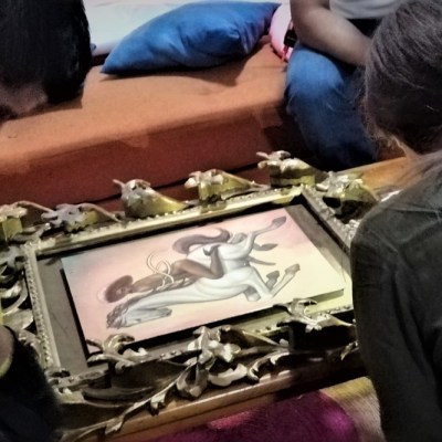 Fabián Cháirez, creador del polémico cuadro de Zapata, lamenta violencia en Bellas Artes