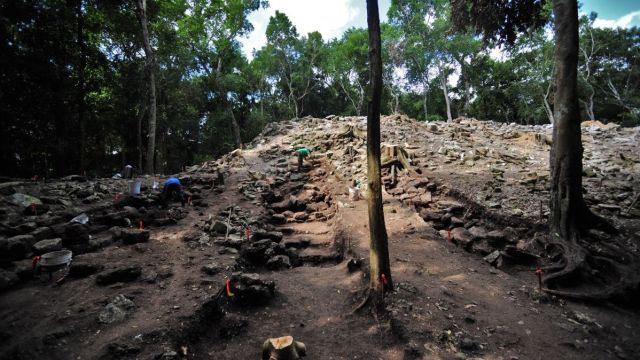 Zona arqueológica de Kulubá.