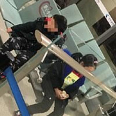 Padres abandonan a sus hijos con síntomas de coronavirus en aeropuerto