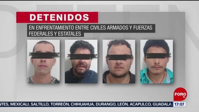 FOTO: 18 enero 2020, abaten a tres delincuentes tras enfrentamiento en morelia