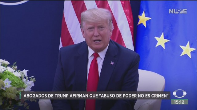 FOTO: abuso de poder no es un crimen asegura defensa legal de trump