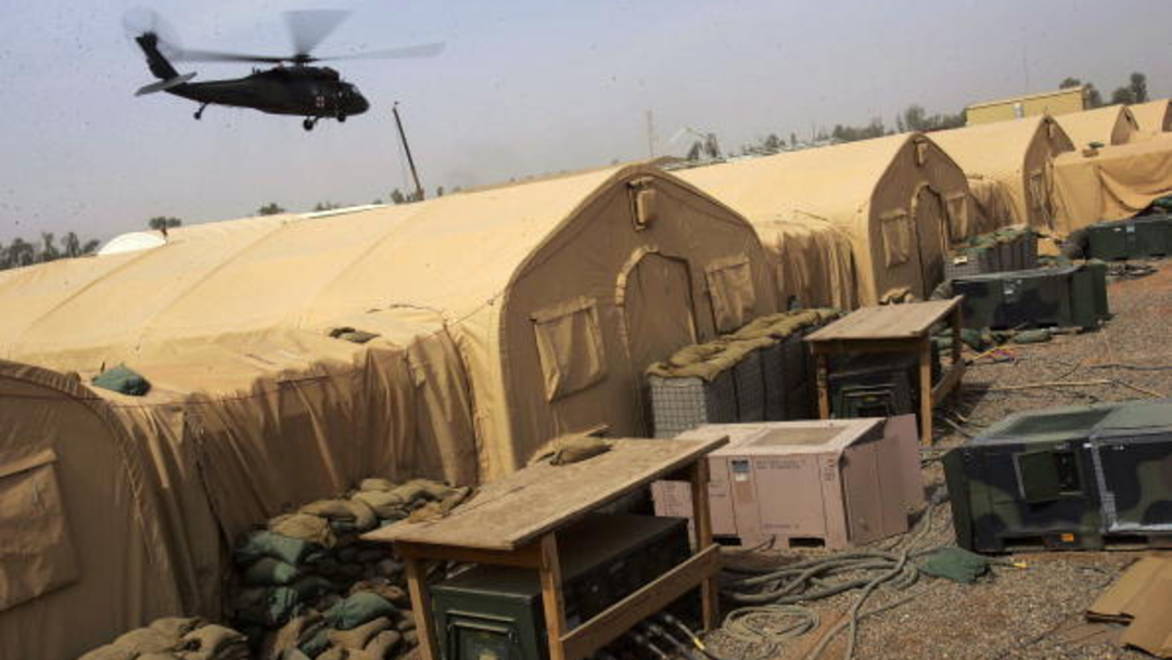 Foto: Base militar de Al Balad, en Irak
