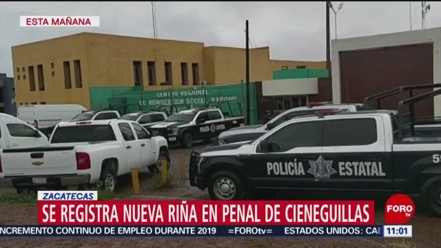 Foto: al menos un muerto por nueva rina en penal de cieneguillas