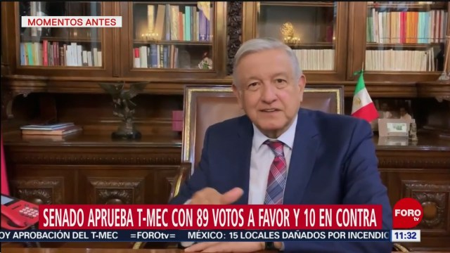 amlo aprobacion de tmec en eeuu genera confianza en mexico