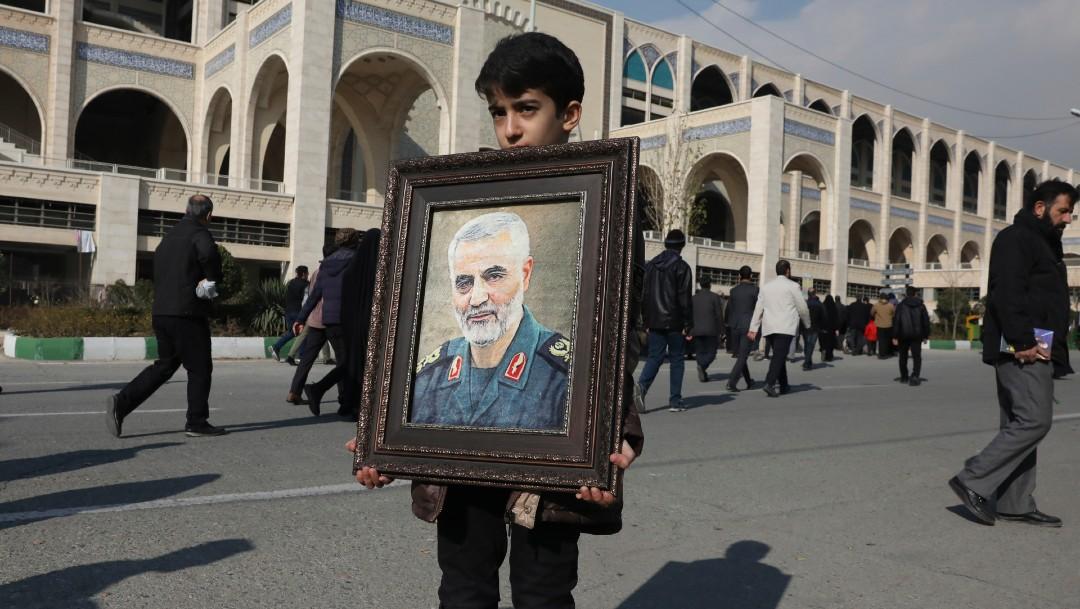 Foto: Ataque de EE.UU. donde murió el iraní Soleimani, el 04 de enero de 2020