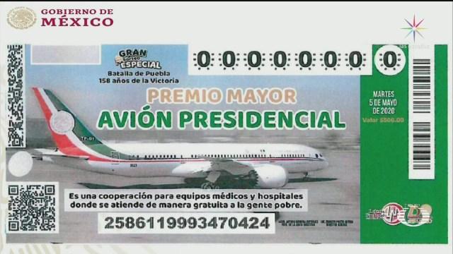 Foto: Amlo Presenta Diseño De Cachitos Rifa Avión Presidencial 28 Enero 2020
