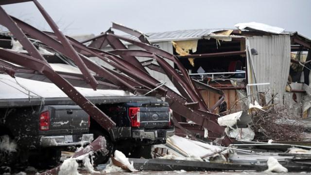 Foto: Al menos siete muertos por tormentas en sureste de EEUU, 11 de enero 2020, (AP)