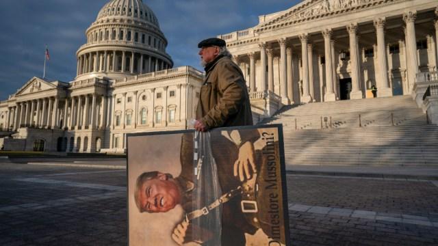 Foto: Senado rechaza más testigos en el juicio político contra Trump, 31 de enero de 2020, (AP)