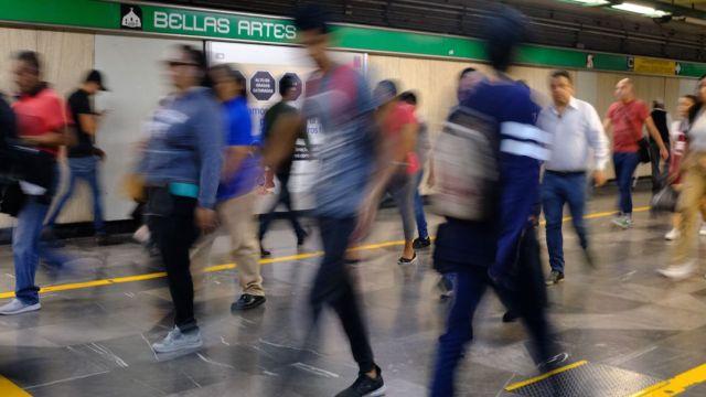 Foto Asalto Metro Tacuba 25 Enero 2020