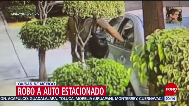 Foto: Robo Autos Estacionados Colonia Lindavista CDMX Video 16 Enero 2020