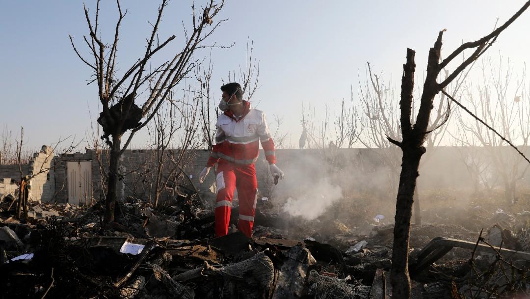 Foto: Avión ucraniano pudo haber sido derribado por error, dice Trump