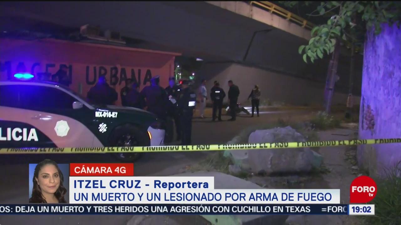 FOTO: 3 enero 2020, balacera deja un muerto por arma de fuego en la gustavo a madero