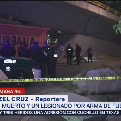 Balacera deja un muerto por arma de fuego en la Gustavo A. Madero