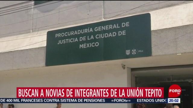 Foto: Novias Integrantes Unión Tepito PGJCDMX Recompensa 9 Enero 2020