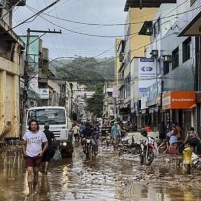 Foto: Tormentas en Brasil dejan al menos 30 muertos, 18 de enero de 2020, (EFE)