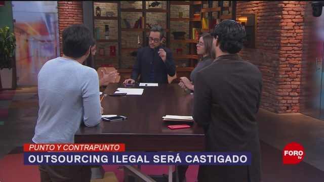 Foto: Castigo Outsourcing Ilegal México 16 Enero 2020