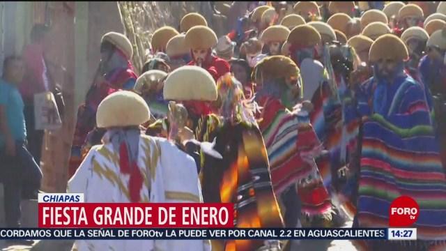 FOTO: celebran fiesta grande de enero en chiapas