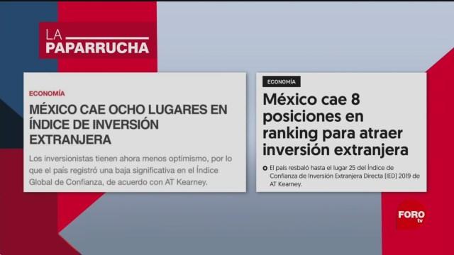 Foto: Inversión Extranjera Directa México Noticias Falsas 23 Enero 2020